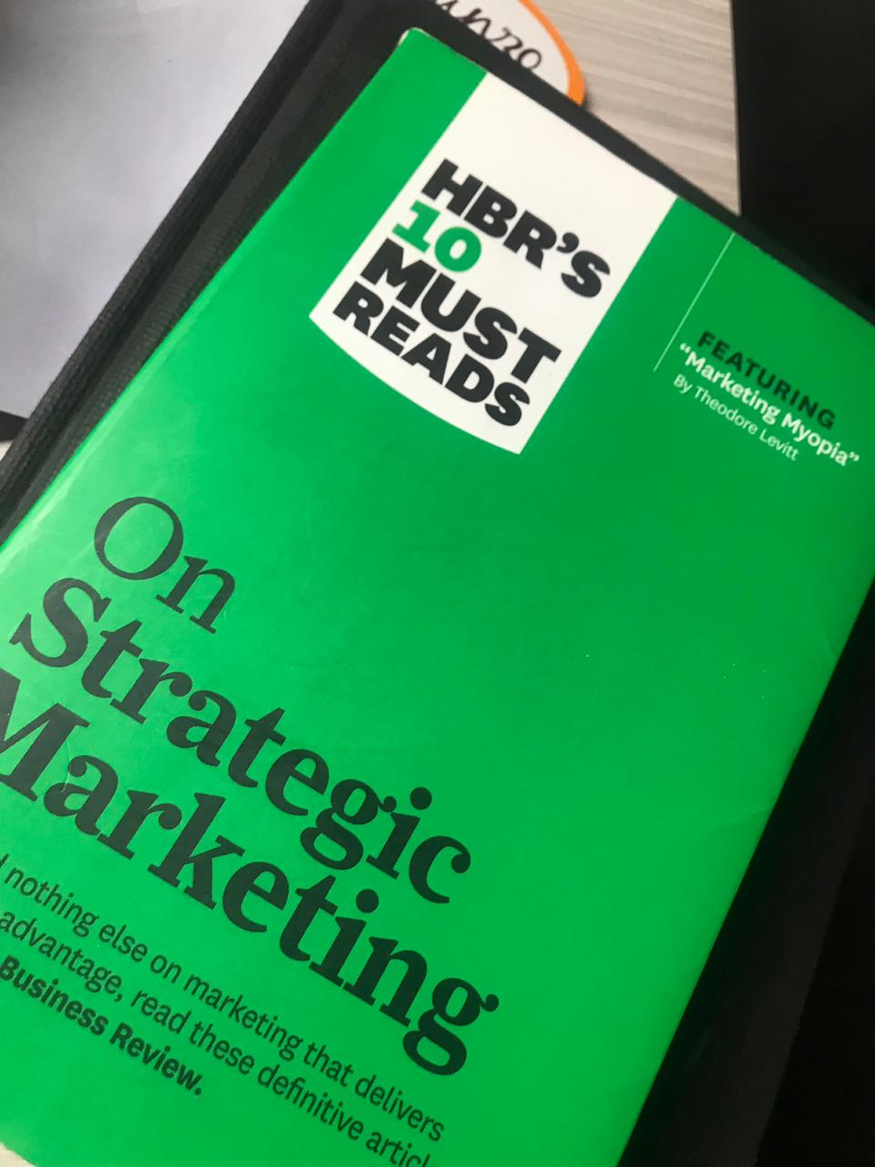 HBS on Strategic marketing